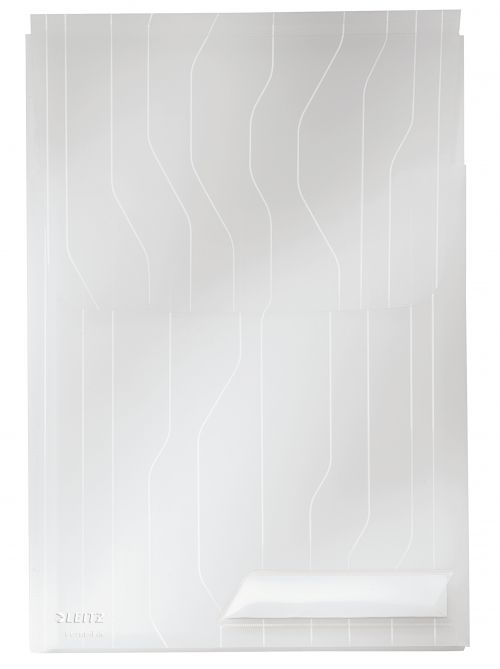 Leitz Combifile Expanding A4 Folder - Clear (Pack of 3)