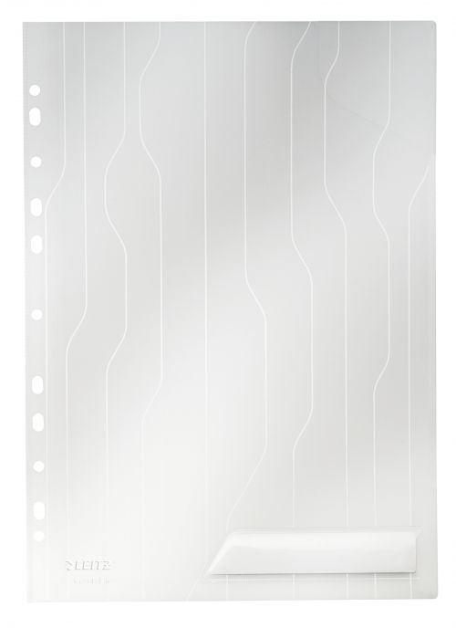 Leitz Combifile A4 Folder Clear (Pack 5)