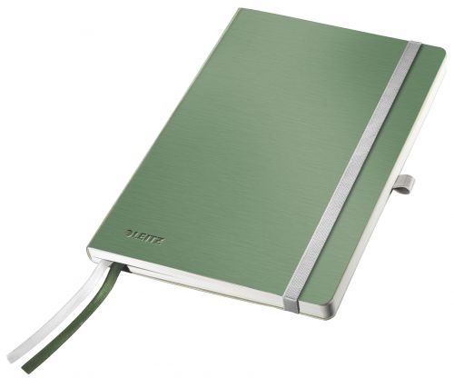 Leitz Style Notebook Soft Cover A5 ruled  celadon gn - Outer carton of 5