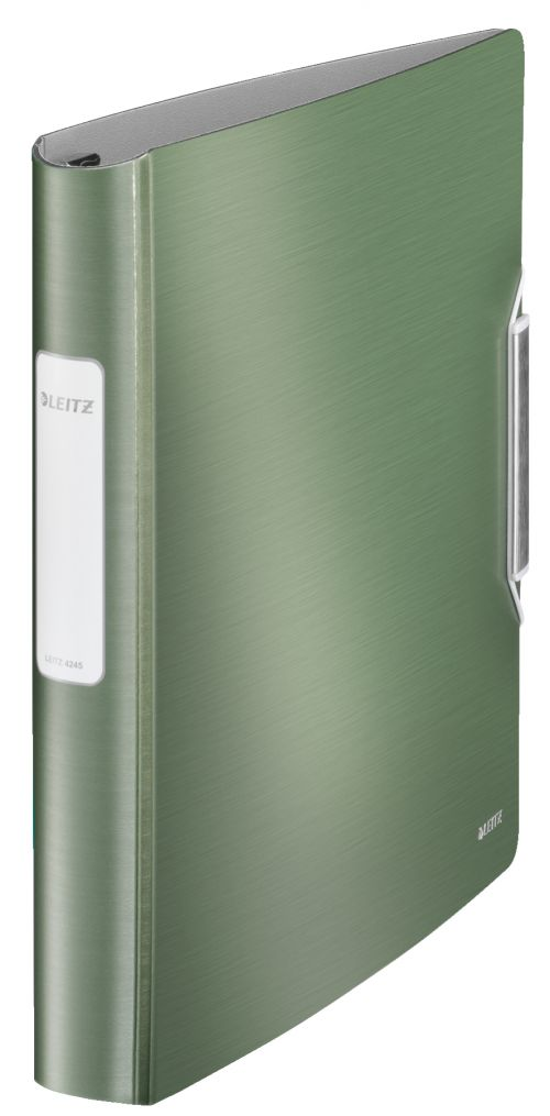 Leitz Active Style SoftClick Ring Binder A4 4 D-Ring 30mm Celadon Green - Outer carton of 5