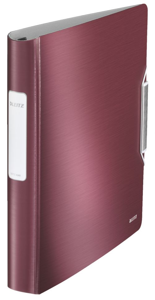 Leitz Active Style SoftClick 4-D Binder A4 30mm Red PK5