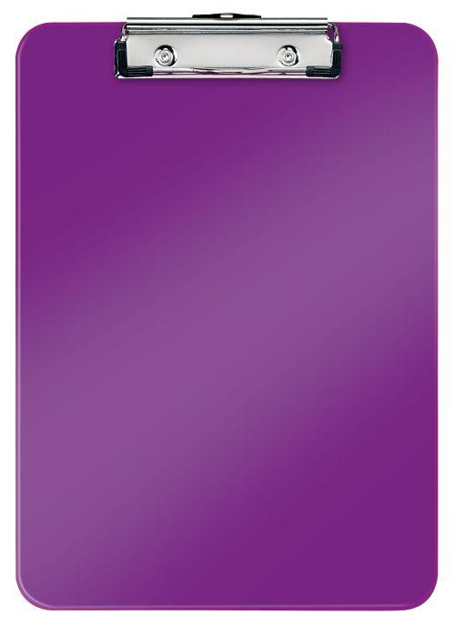 Leitz WOW Clipboard A4 - Purple - Outer carton of 10