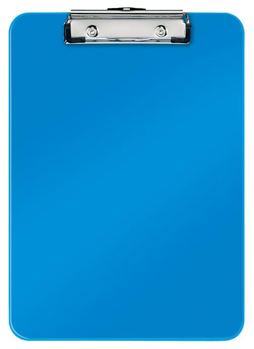 Leitz WOW Clipboard A4 - Metallic Blue - Outer carton of 10