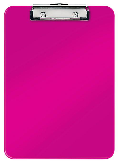 Leitz WOW Clipboard A4 - Metallic Pink - Outer carton of 10