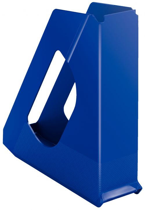 Esselte Europost Magazine File A4 Blue - Outer carton of 10
