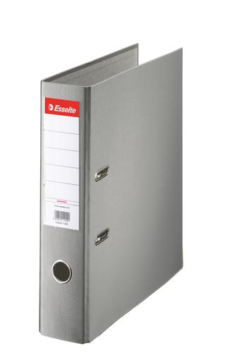 Esselte Essentials Lever Arch File Polypropylene A4 75mm Grey - Outer carton of 20