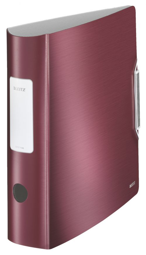 Leitz 180 Active Style LAF A4 PP 80mm Garnet Red PK5