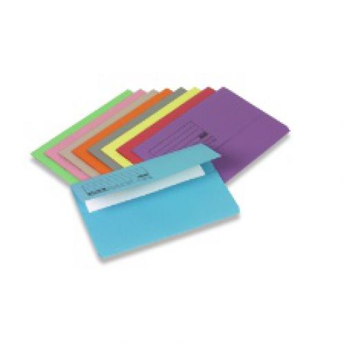 Document Wallet FC Blue Pack of 50 45913 3P