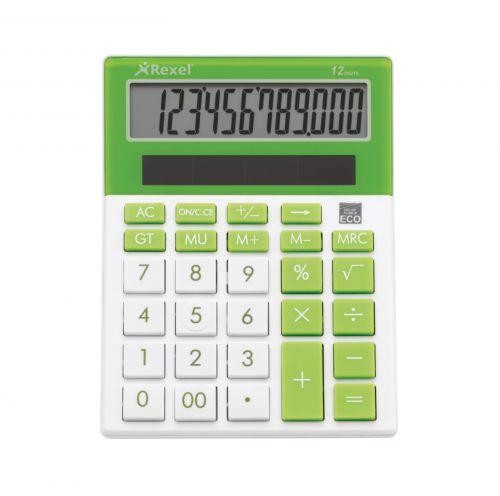 Rexel JOY Desktop Calculator Lime