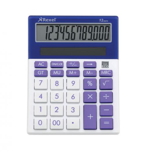 Rexel JOY Calculator Perfect Purple