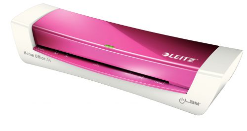 Leitz iLam A4 Home Office Laminator Pink
