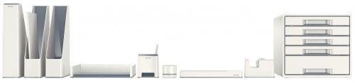 Leitz WOW Sound Booster Pen Holder White/Grey 53631001 LZ11366