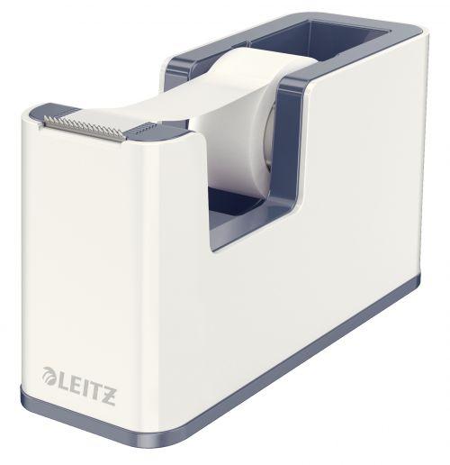 Leitz Wow Tape Dispenser Including Tape White/Grey