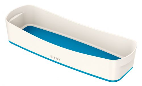 Leitz MyBox Tray Organiser WOW White Blue