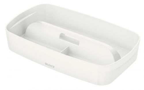 Leitz MyBox Organiser Tray with Handle Small White