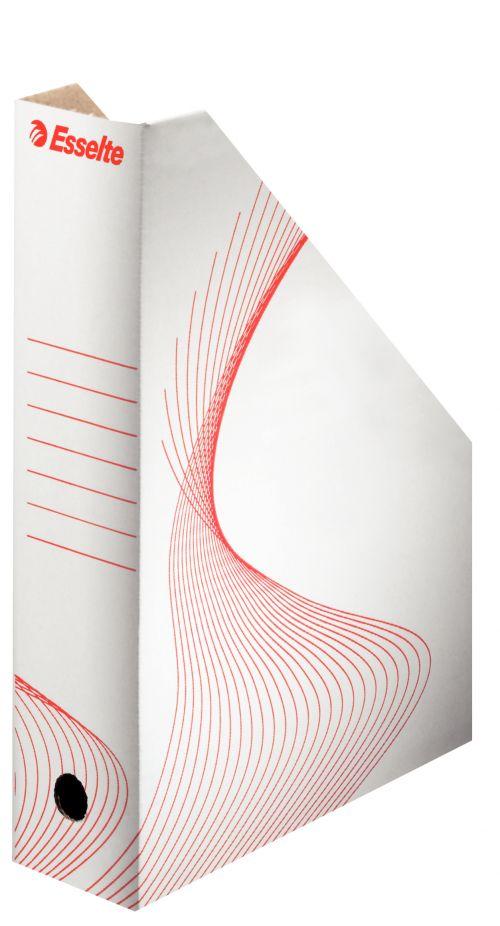 Esselte Standard Archiving Magazine File 80mm White