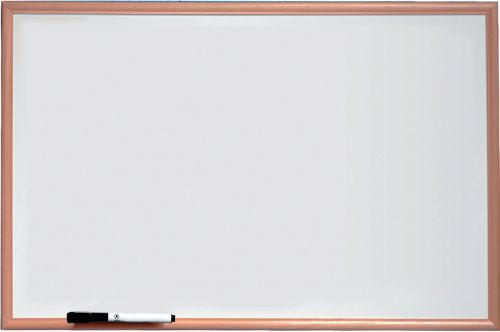 Nobo Basic Melamine Pine Frame Whiteboard 600x400mm