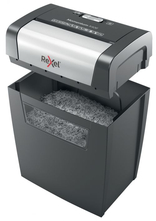 Rexel Momentum X406 Cross-Cut Shredder 2104569