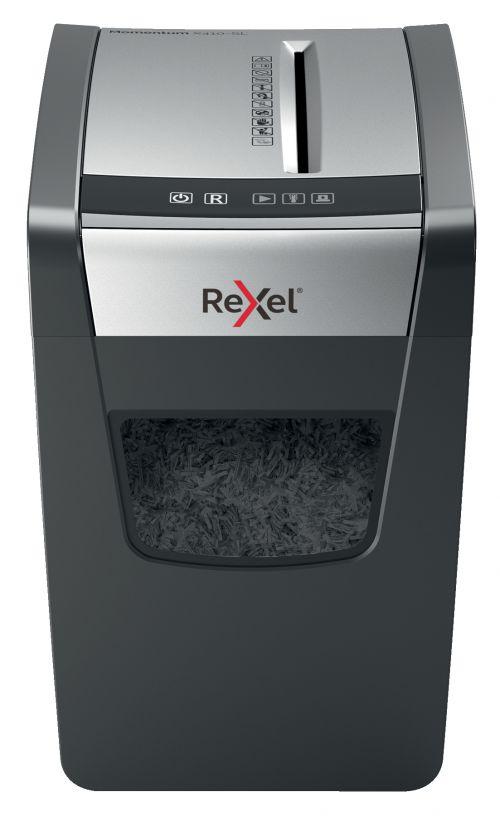 Rexel Momentum X410-SL Slimline Cross-Cut Shredder