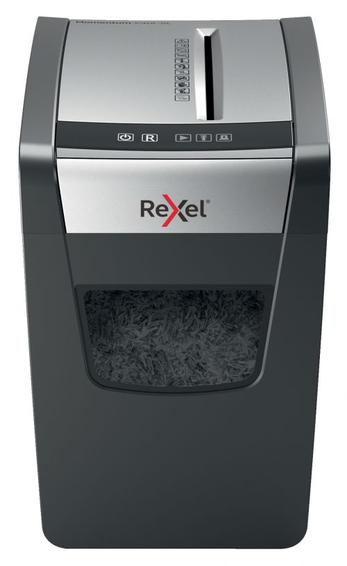 Rexel Momentum X312-SL Slimline Cross-Cut Shredder