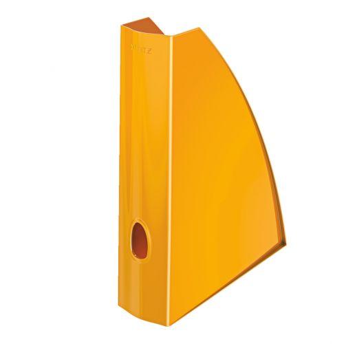 Leitz WOW Magazine File A4 Orange Metallic