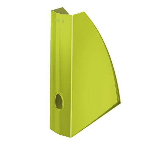Leitz WOW Magazine File A4 Green Metallic