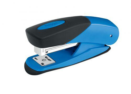 Rexel Choices Matador Half Strip Stapler Blue