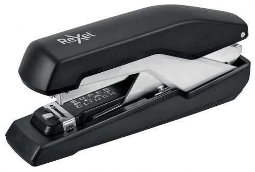 Rexel Supreme Omnipress Super Flat Clinch Full Strip 60 Sheet Metal Stapler S060