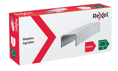 Rexel Omnipress 30 Staples - Pack of 5000