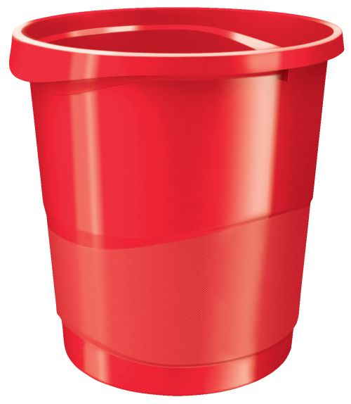 Rexel Choices Waste Bin Red 2115618