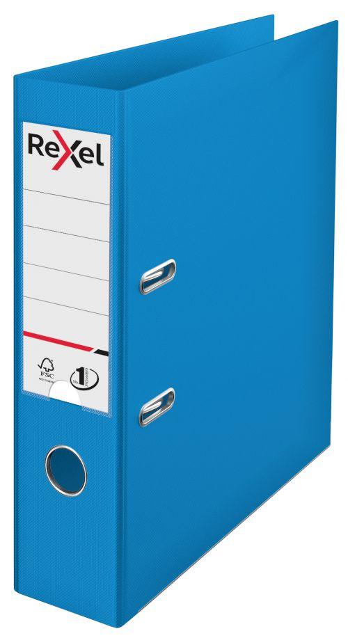 Rexel Choices A4 PP Lever Arch File Blue PK10