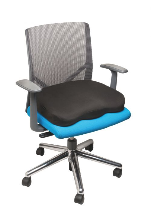 Kensington Memory Foam Seat Cushion Black K55805WW
