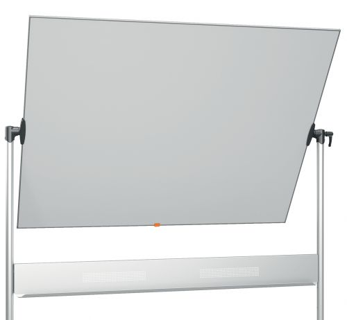 Nobo Mobile Steel Magnetic Horizontal Whiteboard 1500x1200mm 1901031 NB11830