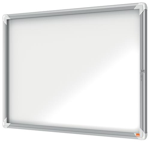 Nobo Premium Plus Outdoor Magnetic Lockable Notice Board 8xA4 1902579 Glazed Notice Boards NB06405