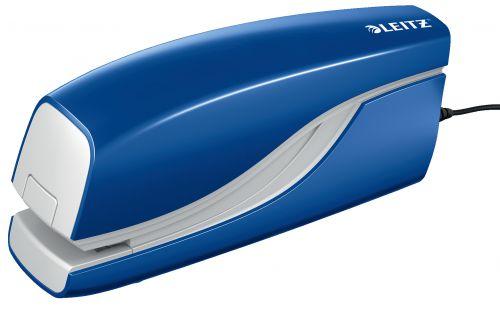 Leitz NeXXt Electric Stapler 10 sheets. Includes staples. Blue