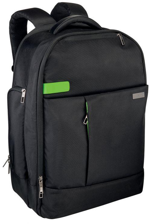 """Leitz Complete 17.3"""" Backpack Smart Traveller Black"""
