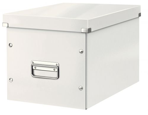 Leitz WOW Click & Store Cube Large Storage Box, White
