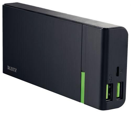 Leitz Complete USB High Speed Power Bank 10400 Black