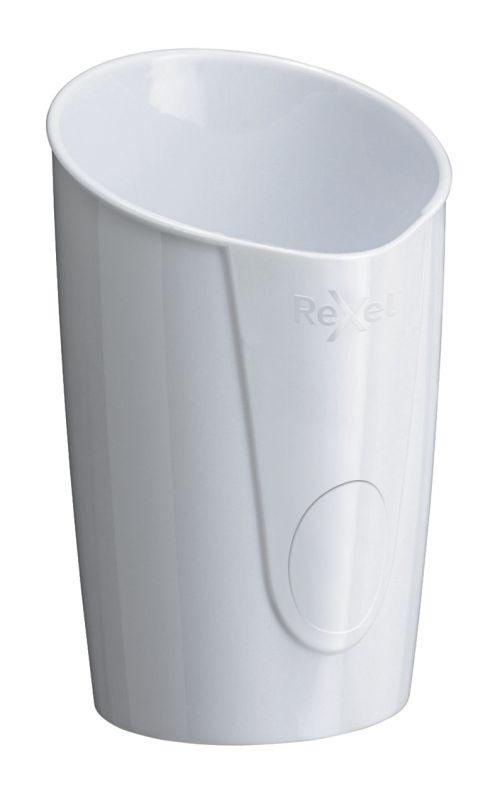 Rexel Choices Pen Pot, White - Outer carton of 6