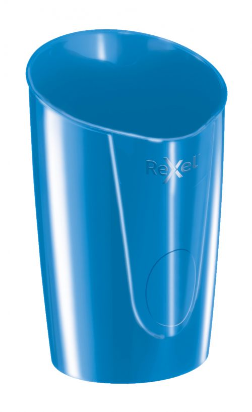 Rexel Choices Pen Pot, Blue - Outer carton of 6