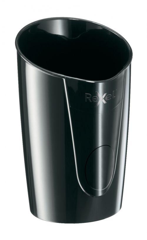 Rexel Choices Pen Pot, Black - Outer carton of 6