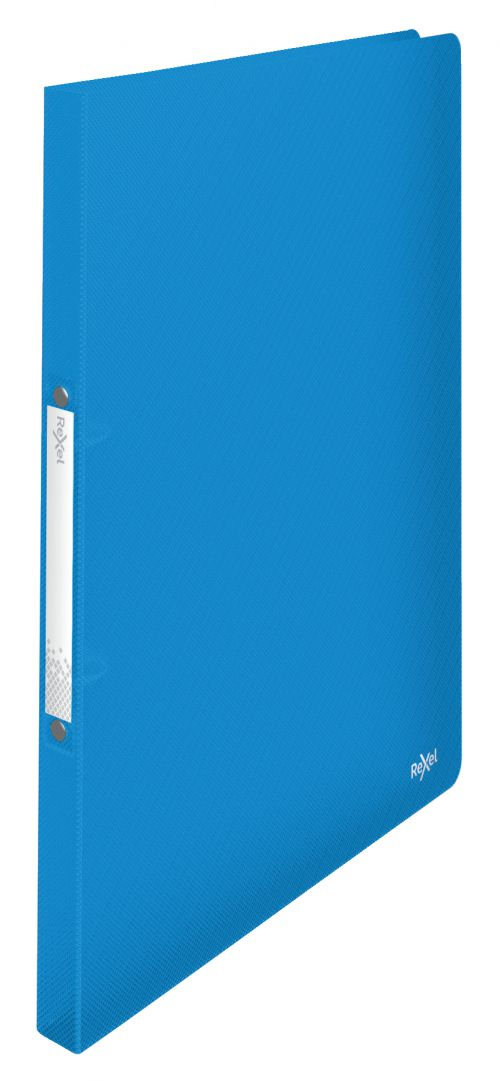 Rexel A4 Ring Binder; Blue; 16mm 2 O-Ring Diameter; Choices - Outer carton of 10