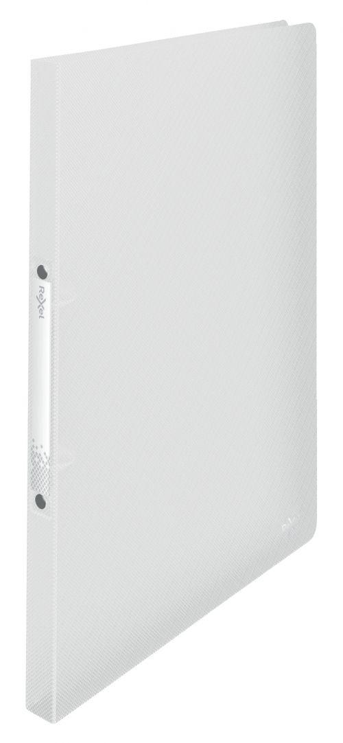 Rexel A4 Ring Binder; White; 16mm 2 O-Ring Diameter; Choices - Outer carton of 10