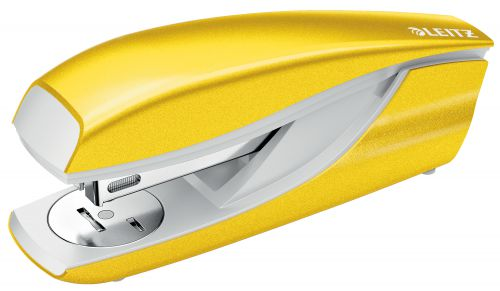 Leitz New NeXXt WOW Metal Office Stapler 30sh Yellow