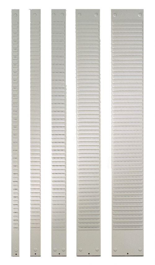 Nobo T-Card Metal Panels Size 1, 32 Slot