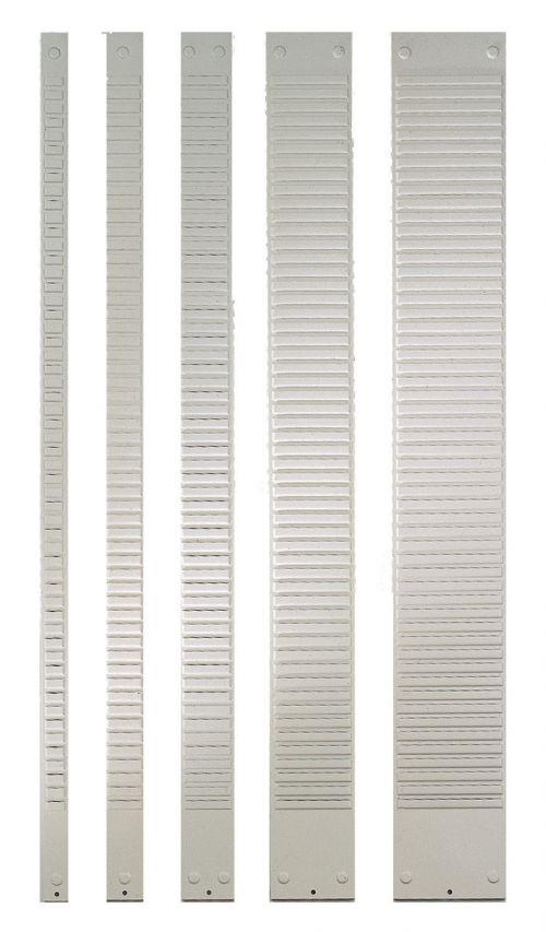 Nobo T-Card Metal Panels Size 2, 40 Slot