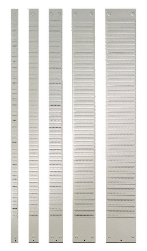 Nobo T-Card Metal Panels Size 3, 40 Slot