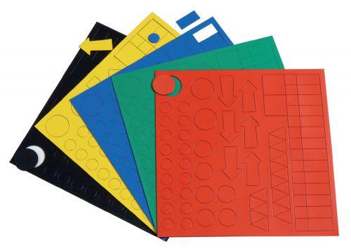 Nobo Planning Magnetic Symbols Kit - Assorted