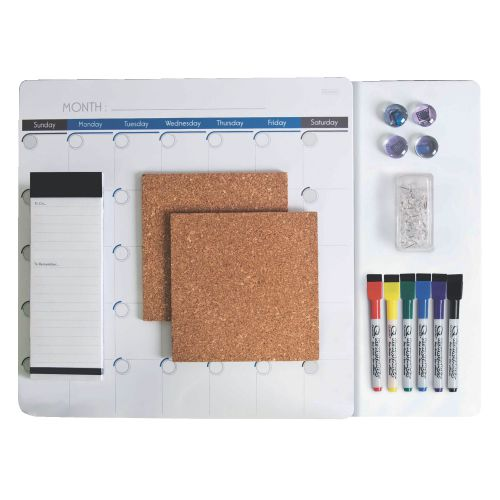 Rexel Communication Centre Value Pack - White/brown
