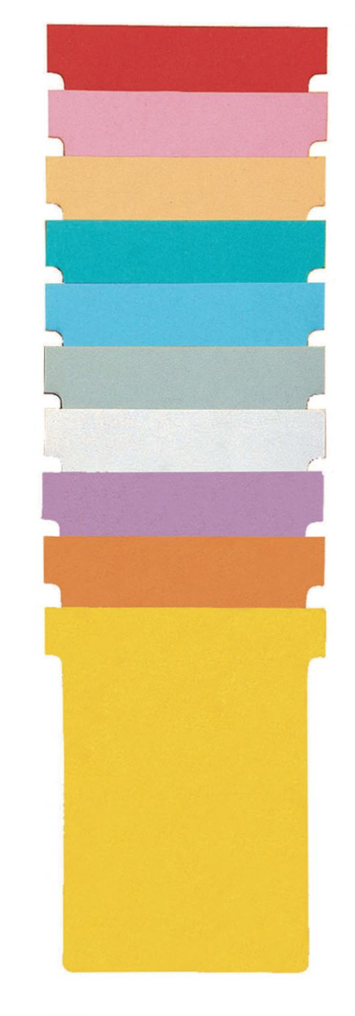 Nobo T-Cards A110 White Size 1 (Pack of 100) - Outer carton of 5